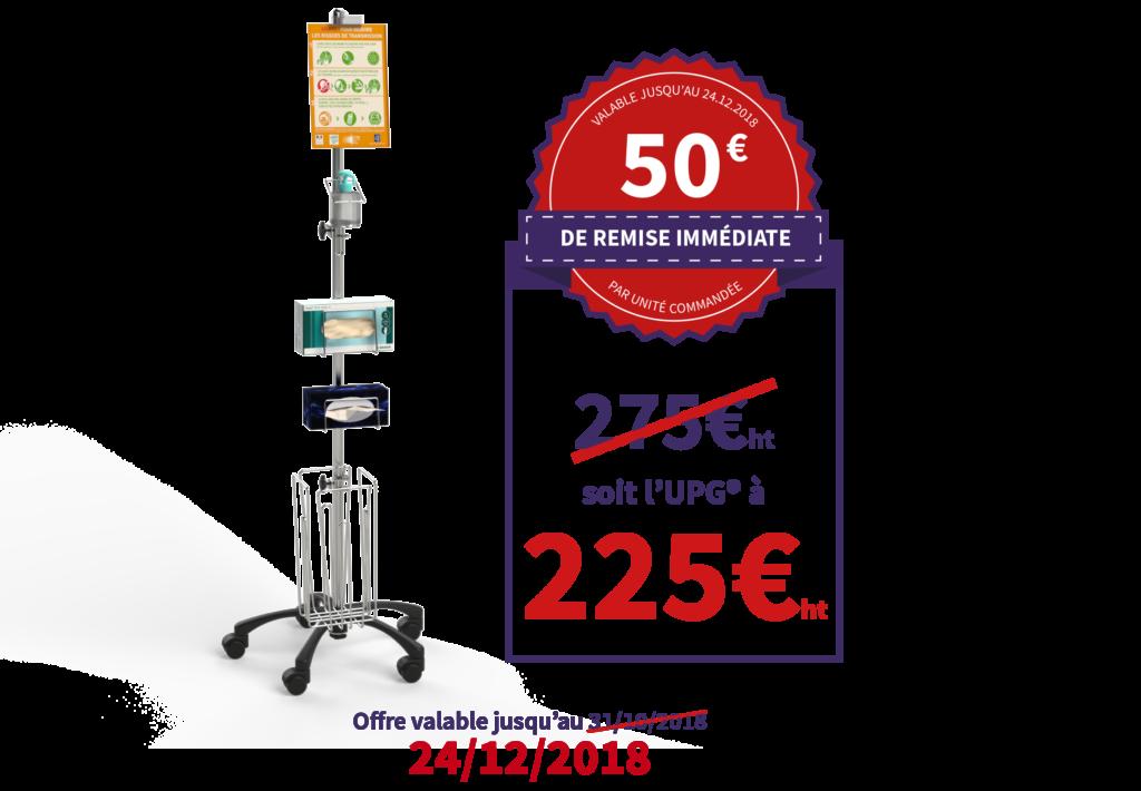Promo Unité de Prévention de la Grippe (UPG®) - 50€ de remise immédiate
