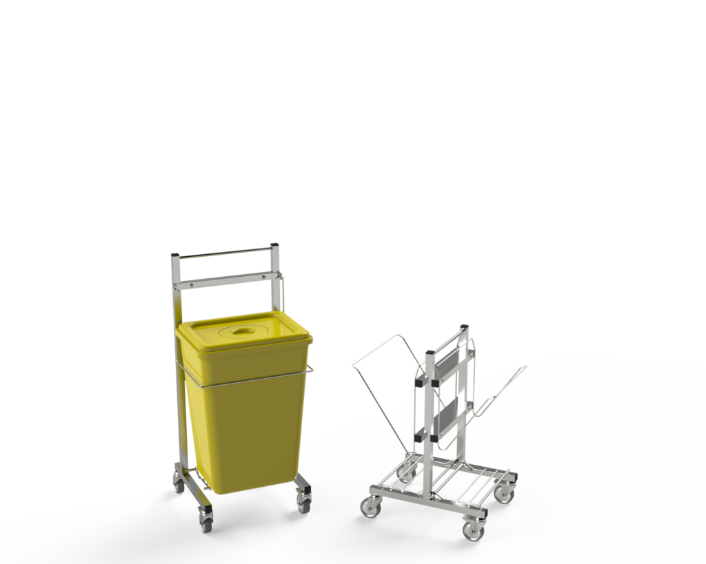 Supports pour collecte/tri des déchets d'activités de soins Evolu-Tri® - PH² International