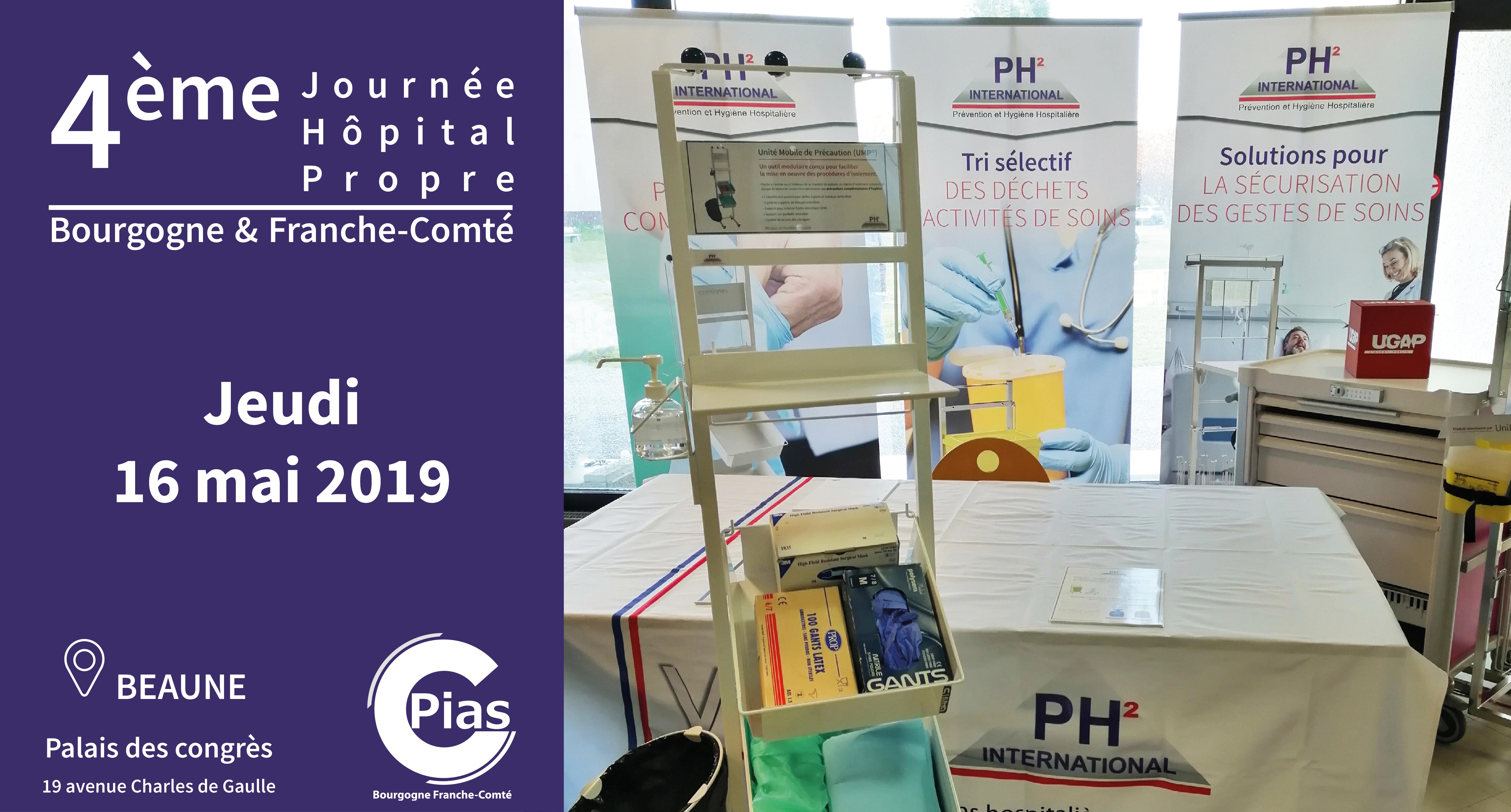 4ème Journée Hôpital Propre en Bourgogne – Franche-Comté – PH² International